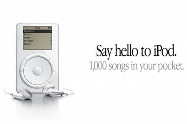 iPod benefit messaging